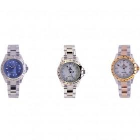 SK TIME Jam Tangan Elegan Pria - SK3018 - Silver Blue - 2