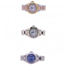 SK TIME Jam Tangan Elegan Pria - SK3018 - Silver Blue - 3