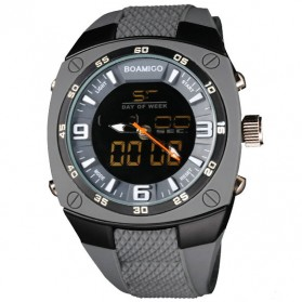 BOAMIGO Jam Tangan Analog Digital Pria - F-602 - Gray