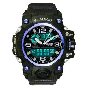 BOAMIGO Jam Tangan Analog Digital Pria - F-502 - Blue