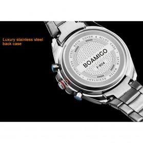 BOAMIGO Jam Tangan Analog Digital Pria - F-904 - Silver - 4