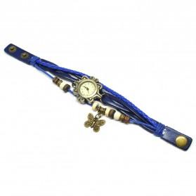 Jam Tangan Wanita Style Vintage - Dark Blue - 2