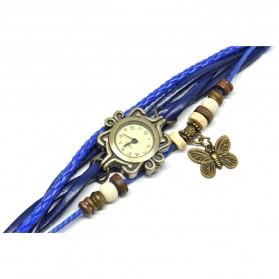 Jam Tangan Wanita Style Vintage - Dark Blue - 4