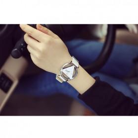 Xiniu Jam Tangan Triangle Quartz - YQ007 - White - 4