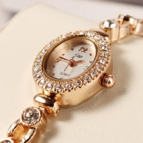 Luxury Fashion Diamond Ladies Watch Bracelet - 133112 - White