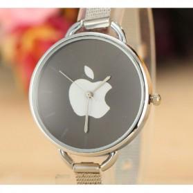 Jam Tangan Wanita Logo Apple - Golden - 3