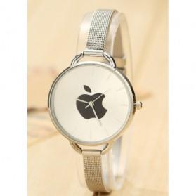 Jam Tangan Wanita Logo Apple - Golden - 4