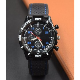 Movement Men Sport Watch Silicone Strap - Blue