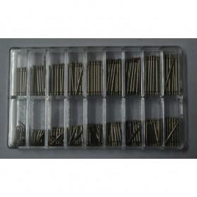 Watch Repair Kit Ear 8-25mm 360 Pcs - Silver - 3