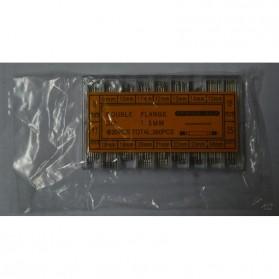 Watch Repair Kit Ear 8-25mm 360 Pcs - Silver - 4