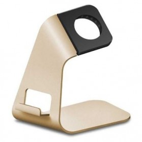 iWatch Metal Aluminium Bracket Stand for Apple Watch - Golden