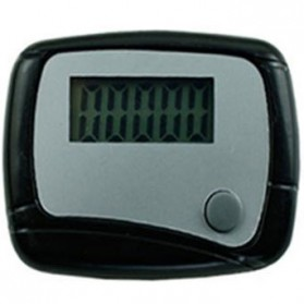Pedometer Olahraga Layar LCD - Black - 1