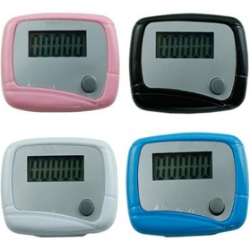 Pedometer Olahraga Layar LCD - Black - 4