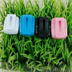 Pedometer Olahraga Layar LCD - Black - 5