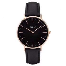 Cluse Jam Tangan Analog (Replika 1:1) - CS7 - Black