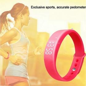 Zapet Gelang Sport Pedometer Fitness - W5S - Black - 2