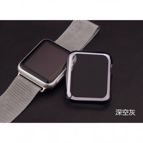 Case Cover & Screen Protector untuk Apple Watch Series 1/2/3 42mm - Black - 2