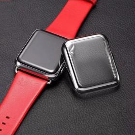 Case Cover & Screen Protector untuk Apple Watch Series 1/2/3 42mm - Black - 4