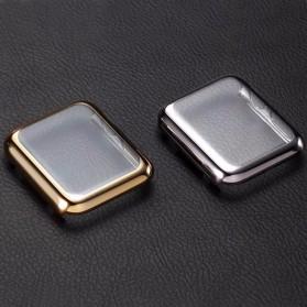 Case Cover & Screen Protector untuk Apple Watch Series 1/2/3 42mm - Black - 5