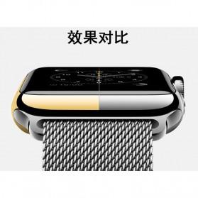Case Cover & Screen Protector untuk Apple Watch Series 1/2/3 42mm - Black - 8