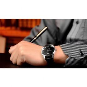 Yazole Jam Tangan Analog - 318 - Black/Black - 8
