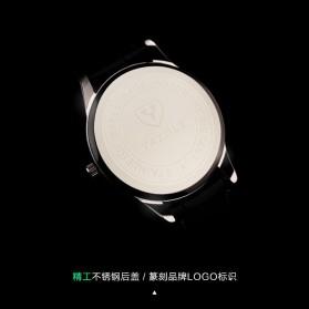Yazole Jam Tangan Analog - 318 - Brown/White - 6