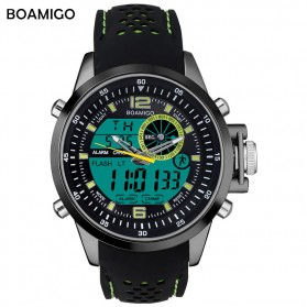 BOAMIGO Jam Tangan Sporty Digital Analog - F533 - Green