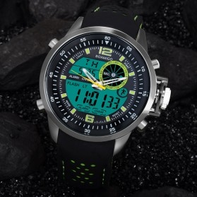 BOAMIGO Jam Tangan Sporty Digital Analog - F533 - Green - 2