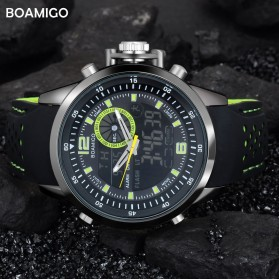 BOAMIGO Jam Tangan Sporty Digital Analog - F533 - Green - 3