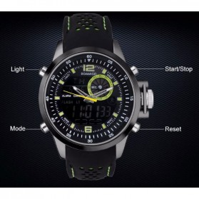 BOAMIGO Jam Tangan Sporty Digital Analog - F533 - Green - 7