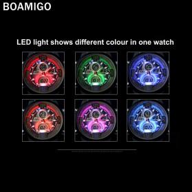BOAMIGO Jam Tangan Sporty Digital Analog - F100 - Silver/Gold - 6