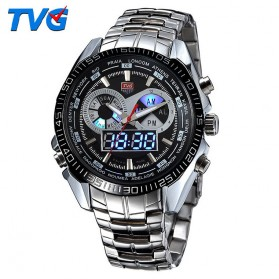 TVG Jam Tangan Sporty Digital Analog - KM-468 - Black - 1