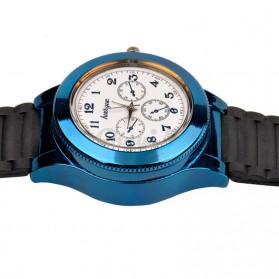 Huayue Jam Tangan Kasual dengan Korek Elektrik USB - F772 - Black/Blue - 3