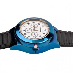 Huayue Jam Tangan Kasual dengan Korek Elektrik USB - F772 - Black/Blue - 4
