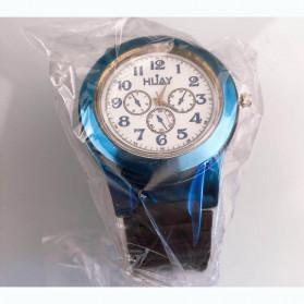 Huayue Jam Tangan Kasual dengan Korek Elektrik USB - F772 - Black/Blue - 8