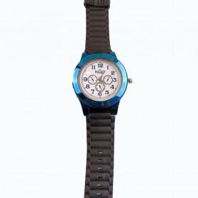 Huayue Jam Tangan Kasual dengan Korek Elektrik USB - F772 - Black/Blue - 10
