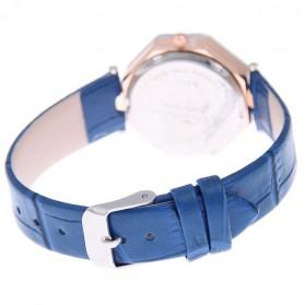 Jam Tangan Kasual Jewelry Cutting Wanita - zp6042 - White - 4