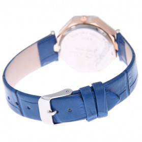 Jam Tangan Kasual Jewelry Cutting Wanita - zp6042 - Blue - 5