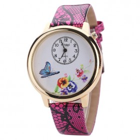 Jam Tangan Wanita Model Butterfly - Rose