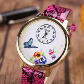 Jam Tangan Wanita Model Butterfly - Rose - 3