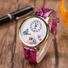 Jam Tangan Wanita Model Butterfly - Rose - 4