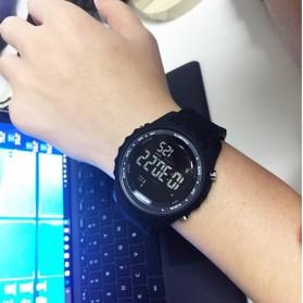 Sanda Jam Tangan Digital Pria - 370 - Black - 4