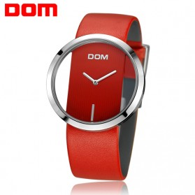 DOM Jam Tangan Analog Wanita - LP205 - Red