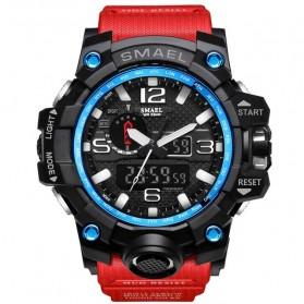 SMAEL Jam Tangan Digital Luminous - 1545 - Red/Blue