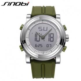 SINOBI Jam Tangan Sporty Digital Pria - 9368 - Green