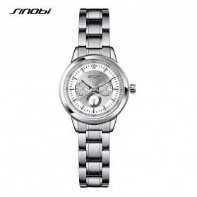 SINOBI Jam Tangan Analog Wanita - 9285 - Silver