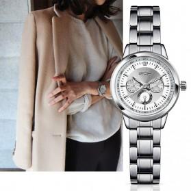 SINOBI Jam Tangan Analog Wanita - 9285 - Silver - 2