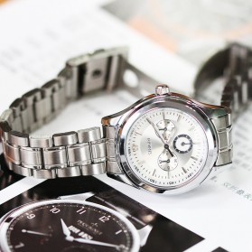 SINOBI Jam Tangan Analog Wanita - 9285 - Silver - 5