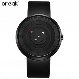 BREAK Jam Tangan Fashion Pria - B106 - Black