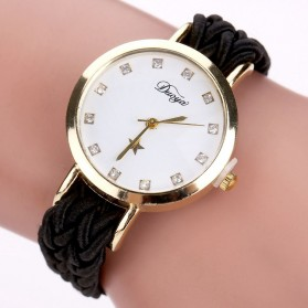 Duoya Jam Tangan Fashion Wanita - DY069 - Black